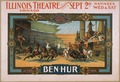 Strobridge & Co. Lith.- Ben-Hur - Klaw & Erlanger's Stupendous Production - Original LoC scan.tif