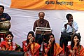 Student perform on Pohela Falgun celebration at Muktamancha in University of Chittagong (05).jpg