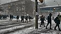 Students trudging through snow - dramatic edit (47117360951).jpg
