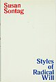Styles of Radical Will (1969 1st ed dust jacket).jpg