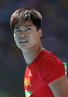 Su Bingtian Chinese sprinter