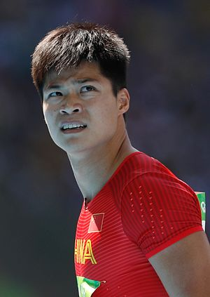 Su Bingtian - Su at the 2016 Olympics