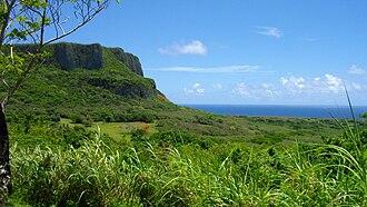 Micronesia - Mount Marpi in Saipan.