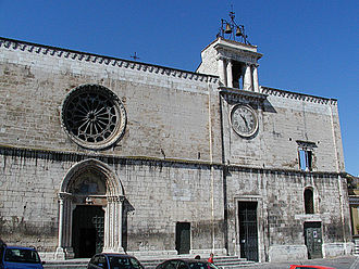 Sulmona - Church of Santa Maria della Tomba.