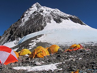The second-highest peak on Earth, and a subsidiary peak to the primary peak of Mount Everest.
