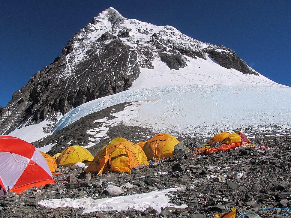 Summit camp Everest