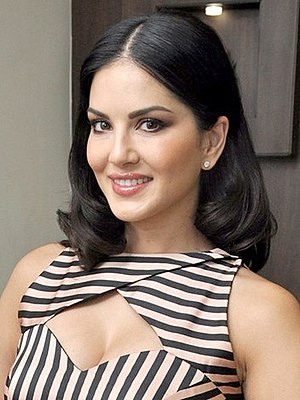 Sunny Leone - Leone at the launch of her perfume brand in 2016
