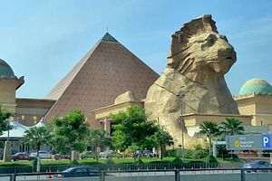 Bandar Sunway - Front facade of Sunway Pyramid shopping mall.