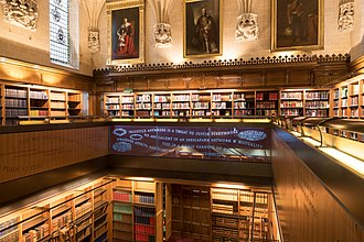 Middlesex Guildhall - Justices' library in the Supreme Court building