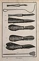 Surgery; surgical instruments for the surgical removals of s Wellcome V0016285ER.jpg