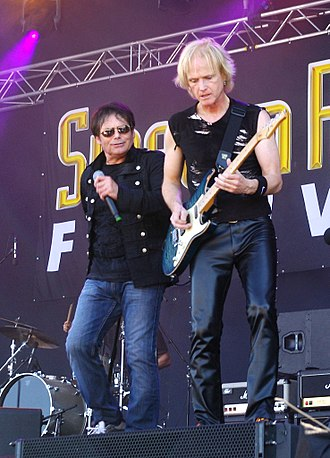 Survivor (band) - Jimi Jamison and Frankie Sullivan at the Sweden Rock Festival in 2013