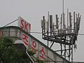 Suwon has a forest of cell phone antennas - panoramio.jpg