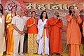 Swami Nardanand Maha Guru of Swami Tridevi Ma Paramahansa tirth on in Kumba Mela Ujjain India 2016.jpg