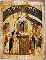 Synaxis of the Theotokos (15th c., P.Korin's house-museum).jpg