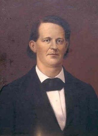 Thomas Reade Rootes Cobb - T. R. R. Cobb by Horace James Bradley