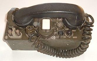 Field telephone - Image: TA 312.agr