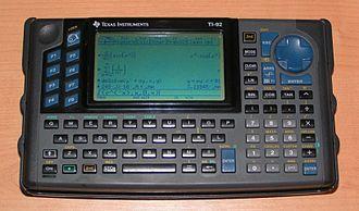 TI-92 series - The original TI–92