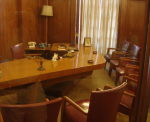 Nehru Memorial Museum & Library - Study of Jawaharlal Nehru, preserved within the museum.