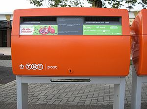 Koninklijke TNT Post - Image: TN Tpost oranje brievenbus (Ede)