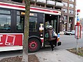 TTC bus 7700 on the Esplanade, 2014 12 28 -h (15538720473).jpg