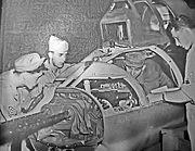 Tail position maintenance - MacDill AAF Florida - 1944
