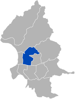 Zhongshan District in Taipei City