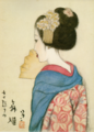 TakehisaYumeji-1921-Ten Themes of Woman Dancing Girl.png