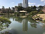 Takueichi Pond and Seifukan Teahouse in Shukkei Garden 6.jpg