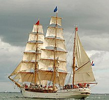 Tall ships, Belfast Lough 2009 (15) - geograph.org.uk - 1448092.jpg