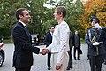Tallinn Digital Summit. Meeting of Estonian President Kersti Kaljulaid and French President Emmanuel Macron (37327083596).jpg