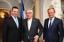 Tallinn Digital Summit. Welcome dinner hosted by HE Donald Tusk. Handshake (36708108883).jpg