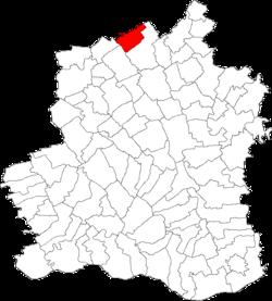 Vị trí của Tatarastii de Sus