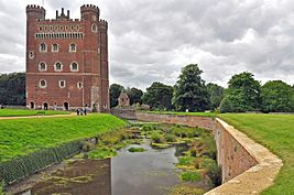 Tattershall Castle and moat - geograph.org.uk - 1460637.jpg