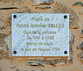 Taussac-la-Billiere plaque memorial.JPG