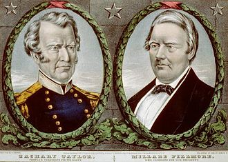 Zachary Taylor - Taylor/Fillmore 1848 campaign poster
