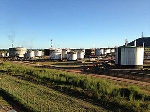 Tazama Pipeline - Tazama Oil depot