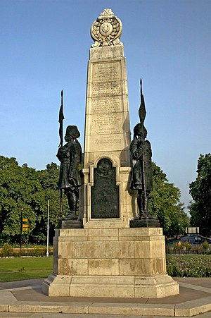 15th (Imperial Service) Cavalry Brigade - Memorial to the Imperial Service Cavalry Brigade, New Delhi.