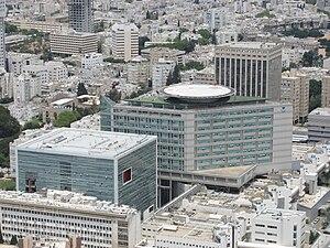 Tel Aviv Sourasky Medical Center - Aerial view of Tel Aviv Sourasky Medical Center, Tel Aviv