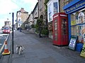 Telephone box, The Bank, Barnard Castle - geograph.org.uk - 832018.jpg