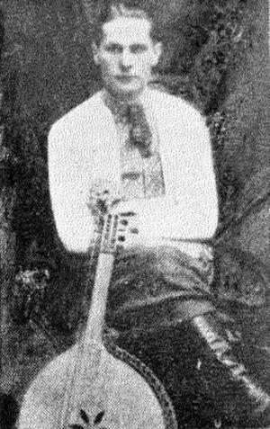 Mykhailo Teliha - Bandurist Mykhailo Teliha, c. 1923.
