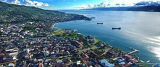 Maluku (province) - Image: Teluk Ambon