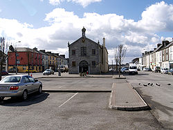 Town Hall and Main Street, Templemore 2010