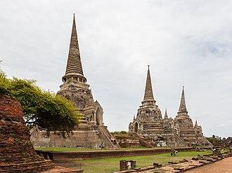 Wat Phra Si Sanphet - The three Chedis of Wat Phra Si Sanphet