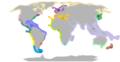Tengeri csigák elterjedésének földrajzi régiói.png