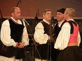 """Tenores di Bitti """"Mialinu Pira"""" - Tenores di Bitti """"Mialinu Pira"""" in concert in, 2009"""