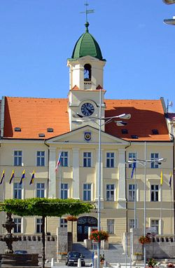 City Hall in Teplice