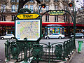 Ternes Metro, Paris January 2013.jpg