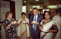 Terttu Soininen - Mrs Ghose - Paul Jozef Crutzen - Mrs Mitra - Convention Centre Inaugural Ceremony - Science City - Calcutta 1996-12-21 066.tif
