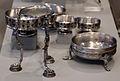 Tesoro di hildesheim, argento, I sec ac-I dc ca., treppiede e coppe.JPG