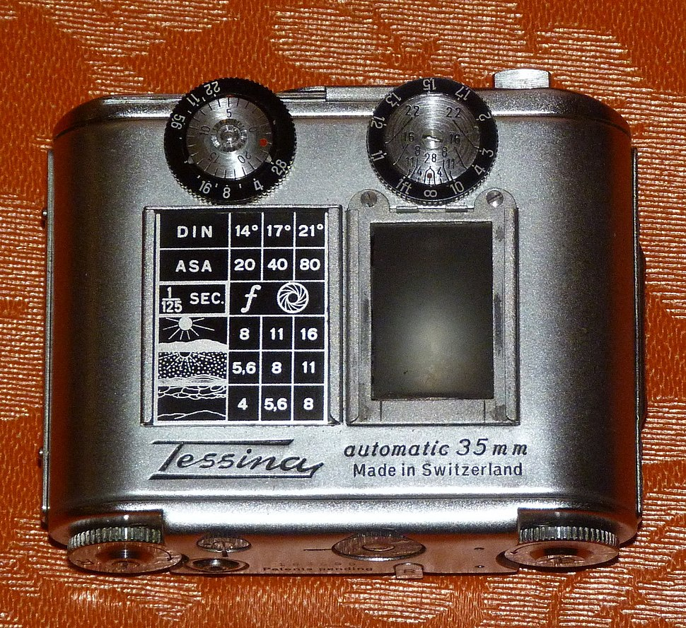 Tessina with exposure guide plate